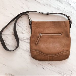 Coach Leather Crossbody Bag